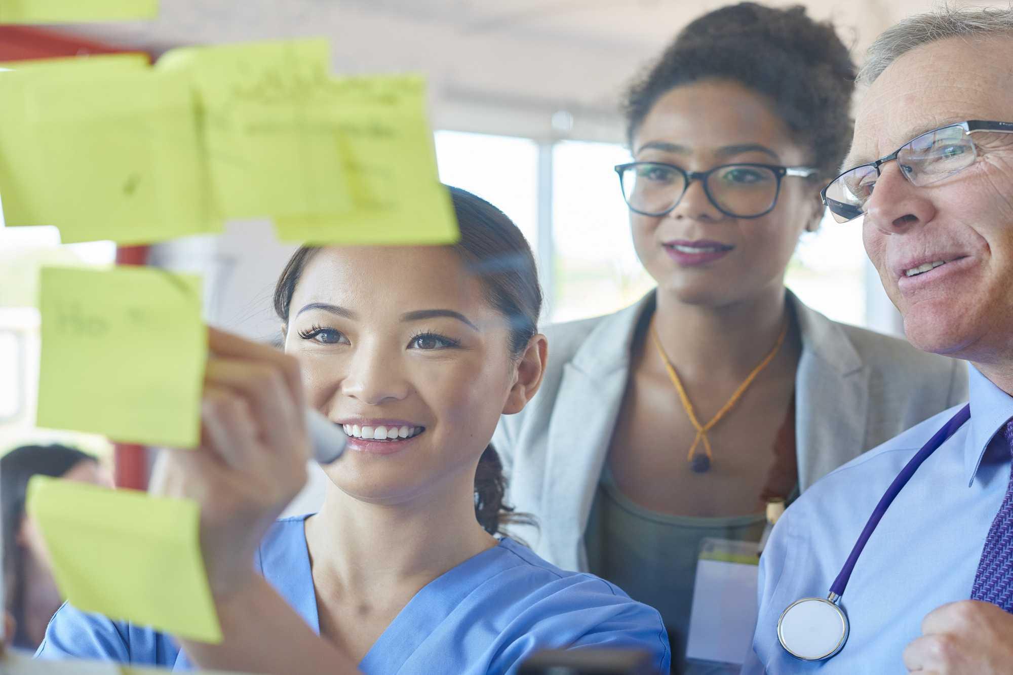 Qual é a importância do design thinking na gestão da saúde?